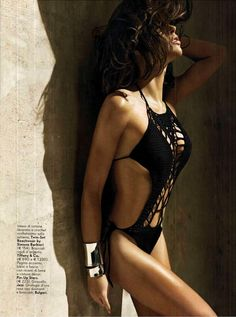 Vanity Fair - May 2012 - Zoe Duchesne - Monokini