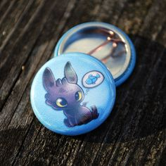 Items similar to Toothless Dragon 1 Inch Pinback Button on Etsy Dragons Dreamworks, Disney And Dreamworks, Toothless Dragon, Hiccup And Toothless, How To Train Your, How Train Your Dragon, Httyd, Dragon Party, Dragon Trainer