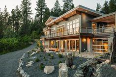 Home Construction Inspiration From Blog Cabin 2015 >> http://blog.diynetwork.com/maderemade/2015/10/29/blog-cabin-home-construction/?soc=pinterest