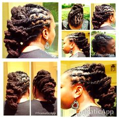Locstyle Updo