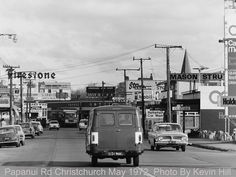 Kevin Hill, Christchurch New Zealand, Old Skool, Old Photos, Buildings, Street View, Cars, Signs, Random