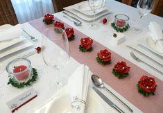 Mustertisch 6b in Rot bei Tischdeko-online.de