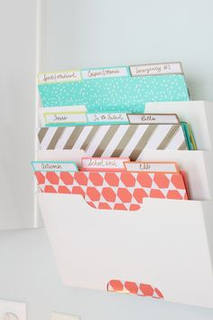 Make sure you're keeping all those school papers organized, so that you know…