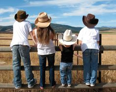 Kids in cowboy hats... adorable
