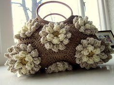 Almond Blossom Bag: free pattern