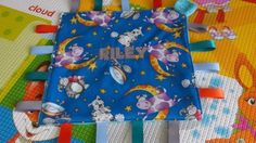 Handmade-Personalised-Taggie-Dummy-Holder-Toy-Link-Hey-Diddle-Diddle Hey Diddle Diddle, Blankets, Toys, Link, Handmade, Hand Made, Carpet, Blanket, Games