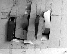 Crystal Gardens by Symbiosis Design Concept Models Architecture, Paper Architecture, Crystal Garden, Arch Model, Parametric Design, Interior Design Inspiration, Landscape Design, Architectural Models, Architectural Presentation