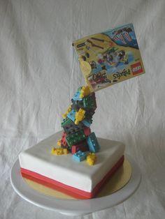 Image result for anti gravity lego cake