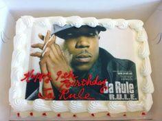 Ja Rule ice cream birthday cake 2/29/12