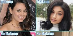 18 Shocking Photos Of Celebrities Without Makeup