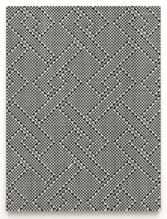 Tauba Auerbach Weave painting
