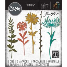 There are some really gorgeous dies coming out in the Chapter 2 Sizzix release from Tim Holtz. These dies are on preorder currently a. Diy Projects Videos, Fun Projects, Tim Holtz Dies, Sizzix Dies, Die Cut Cards, Print Coupons, Scrapbook Paper Crafts, Distress Ink, Flower Cards