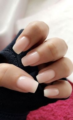 The most beautiful pink nails and pink nail colors! Ive showcased light pink nails, blush pink nails, pink nails with a glitter accent, rose pink nails, and matte pink nails Pink Nail Colors, Solid Color Nails, Best Nail Colors, Gel Nail Polish Colors, Pretty Nail Colors, Nail Colour, Cute Nails, Pretty Nails, Cute Simple Nails
