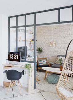 DIY / Ma verrière d'intérieur esprit atelier d'artiste « fait maison » – DecouvrirDesign