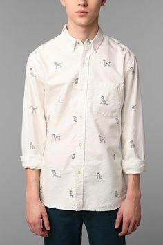 Hawkings McGill Barker Shirt  #UrbanOutfitters