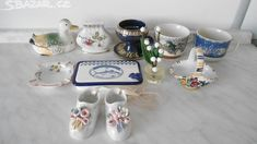 jarní úklid,likvidace porcelánu, - obrázek číslo 1 Mugs, Retro, Tableware, Dinnerware, Tumblers, Tablewares, Mug, Retro Illustration, Dishes