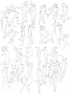 60 second poses by Maidith Movement Drawing, Gesture Drawing, Drawing Base, Woman Drawing, Manga Drawing, Drawing Sketches, Cool Drawings, Human Figure Sketches, Human Figure Drawing