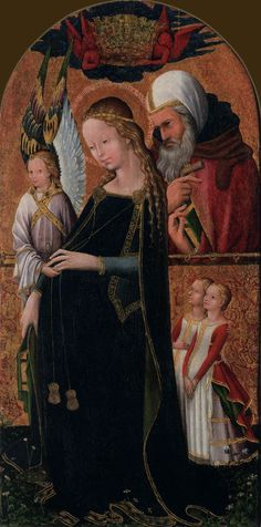 Anonymous: Expectant Mary, and Joseph