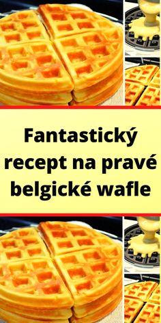 Czech Recipes, Food And Drink, Appetizers, Menu, Sweets, Foods, Breakfast, Hampers, Kuchen
