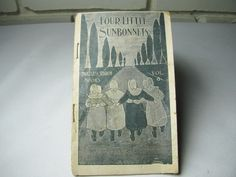 Antique Faultless Starch Sunbonnet girls story and ad by ARTCPACKRAT on Etsy