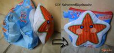 DIY Tasche aus Schwimmflügeln | Sewia.de Diy, Do It Yourself, Upcycled Crafts, Bricolage, Diys, Crafting