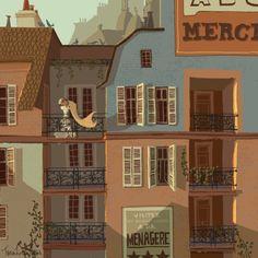 Paris illustrated by Chris Turnham