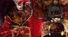 Orly Avineri, she inspires me!  http://oneartistjournal.com/