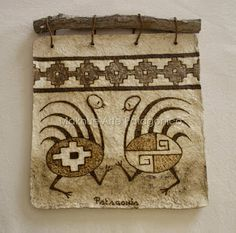 Maknue Arte Patagónico Aboriginal Art, Tribal Art, Wood Art, Mini Paintings, Dot Art Painting, Art, Prehistoric Cave Paintings, Pottery Patterns, American Indian Artwork