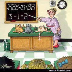 Cours de maths - Math class