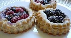 Puff Pastry Berry Tartletts