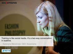 #socjomania #whoweare #socialmedia #trainings #katarzynamlynarczyk Believe, Social Media, Social Networks, Social Media Tips