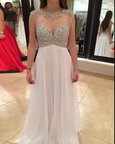 Prom Dresses Tight, Prom Dresses,White Evening Gowns,Sexy Formal Dresses,Chiffon Prom Dresses For Teens Fest We Sexy Formal Dresses, Open Back Prom Dresses, Prom Dresses For Teens, Best Prom Dresses, Cheap Prom Dresses, Elegant Dresses, Party Dresses, Dress Prom, Dress Long