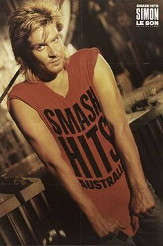 Simon Le Bon Ive always loved this picture.