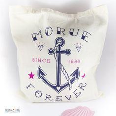 #Totebag #sac en #coton #morue #forever #marine #tatouage #tattoo - création Lolita Picco - #Marseille - en vente chez Happy Paille Boutique des créateurs français #happypaille #toulouse #marin #sactissu #sacs #tote #sacencoton #cotonbio #ancre #sailor #morue #sacàmessage #serigraphie #accessoirefemme #bags #bag #sailorbag #cadeaufemme #cadeaurigolo #cadeauoriginal