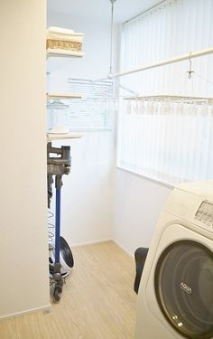 Choose a technique based on your aesthetics, budget plan, time and also capabilities. If you require a few concepts, then search publications or search the Internet for inspiration. Laundry In Bathroom, Washroom, House Landscape, Powder Room, Small Spaces, Life Hacks, House Plans, Sweet Home, Home Appliances