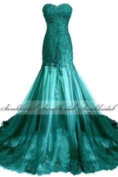 Mermaid-Lace-Applique-Formal-Women-Prom-Evening-Gown-Long-Party-Dresses-Plus-22W