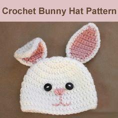 Crochet+For+Children:+Crochet+Bunny+Hat+Pattern