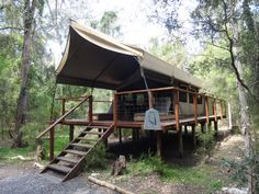Paperbark Camp Jervis Bay - unique luxury tented accommodation Luxury Tents, Places To Visit, Camping, House Styles, Unique, Home Decor, Yurts, Teepees, Houses