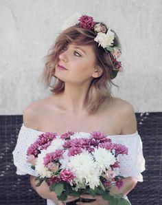 Do it yourself Blumenkranz (DIY) Flowercrown Boho Bohemian Festival Wedding Hochzeit Modeblog Fashionblogger Blumenkrone Modeblogs