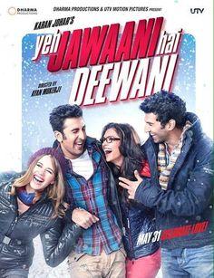 Yeh Jawaani Hai Deewani Bluray - GB On Request Bollywood Movie… Bollywood Movies List, Bollywood Movies Online, Movie List, Movie Tv, Movie Theater, Series Poster, Tv Series, Tarot, Bollywood Posters