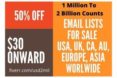 Email List, Email Database, Email ID list, Email Address List USA, UK, Canada, Worldwide 2020 updated fresh opt-in email lists for cold emailing. Email Marketing Services, Online Marketing, Digital Marketing, Editing Writing, Writing A Book, Cold Email, Campaign Logo, Blurb Book, Book Trailers