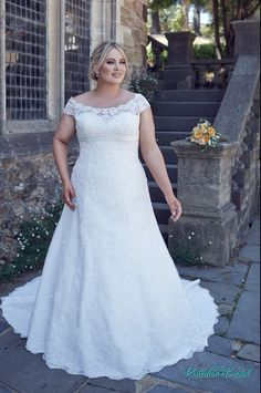 bridget larger size wedding dress full figuredwedding