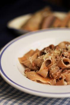 pappardelle all'arentina artusi duck pasta