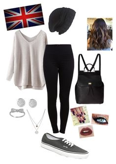 """At Collage in England"" by daisy10015 on Polyvore"