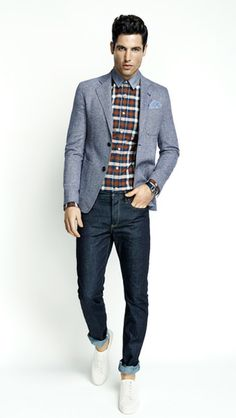 Like to mix it up? With jackets and sports coats, chinos and trousers, and a range of shirts and ties from Gibson, you can do whatever the hell you like.
