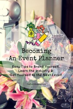 How about a FREE guide on Becoming An Event Planner right now! Learn how – The little thins – Event planning, Personal celebration, Hosting occasions Event Planning Tips, Event Planning Business, Business Events, Party Planning, Business Ideas, Event Guide, Catering Business, Business Goals, Family Business