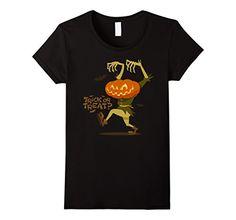 Women's Trick or Treat T-Shirt Pumpkin Zombie Halloween T... https://www.amazon.com/dp/B01LWKTLVK/ref=cm_sw_r_pi_dp_x_lFUDybV3GGRWJ