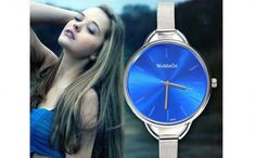 Cheap watch binary, Buy Quality watch case opening tools directly from China watch drive Suppliers: 2015 Fashion Luxury Brand Watch Women Thin Band Ladies Quartz Wristwatches Full Stainless Steel Watch Women Relogio Feminino Stainless Steel Watch, Luxury Branding, Women's Accessories, Watch Women, Sport, Lady, Wristwatches, Blue, Quartz