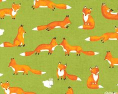 from the 'Forest Friends' collection by Ingrid Slyder for Moda Fabrics