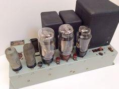 Vintage-Dynatron-LF59-Valve-Power-Amplifier-PX4-PP3-250-for-Tannoy-GRF-Speakers